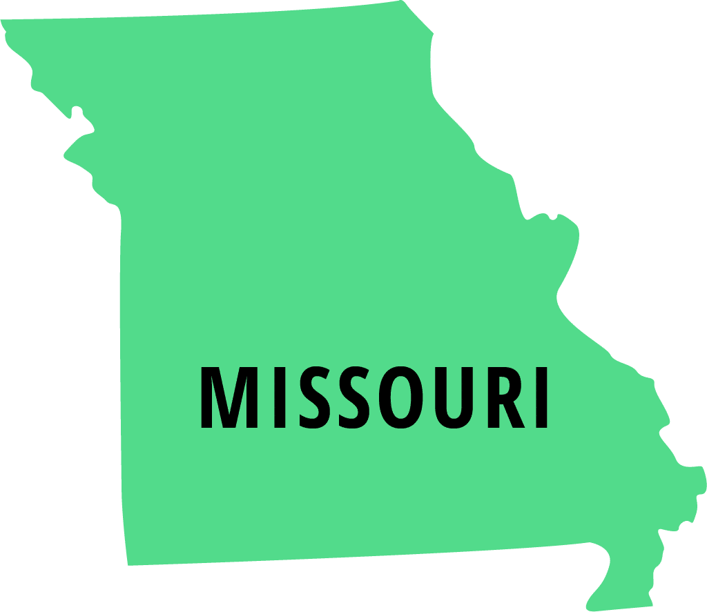 green missouri icon - installment loan missouri